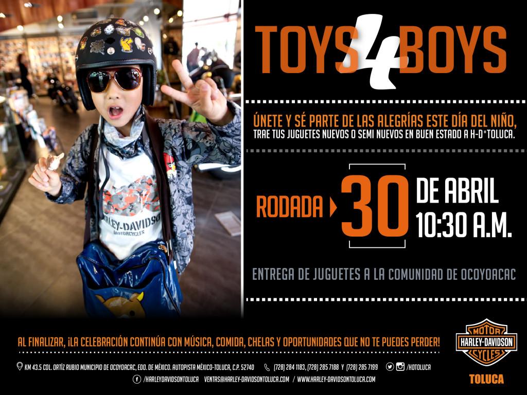 Toys 4 Boys : Toys boys harley davidson toluca